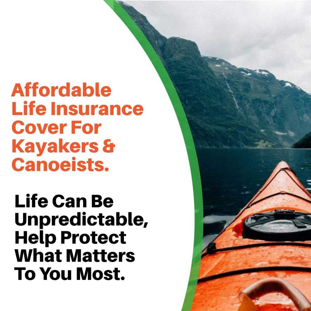 kayaking canoeing life insurance