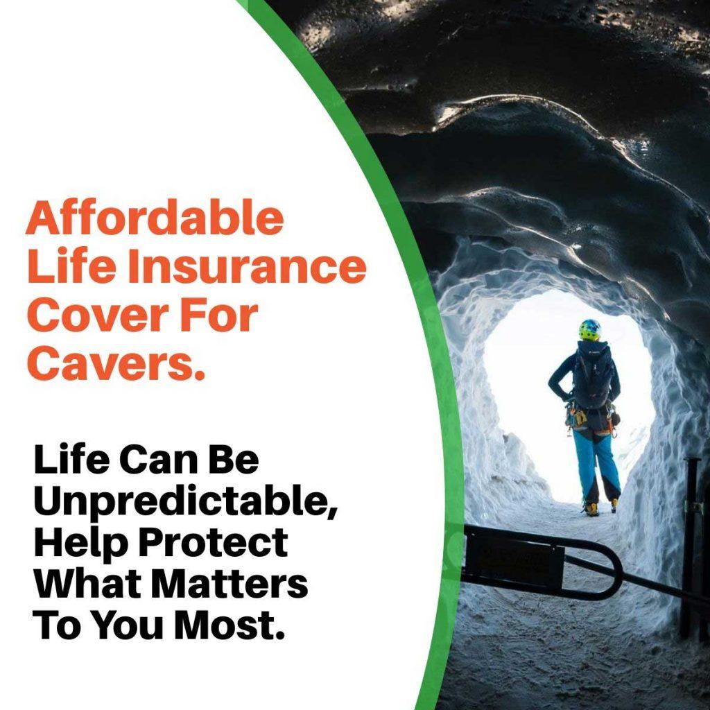 caving life insurance