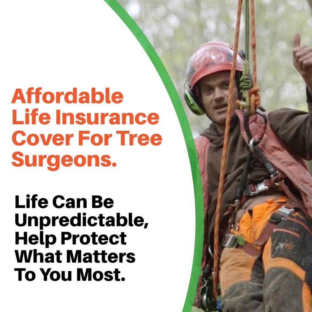 tree surgeon life insurance