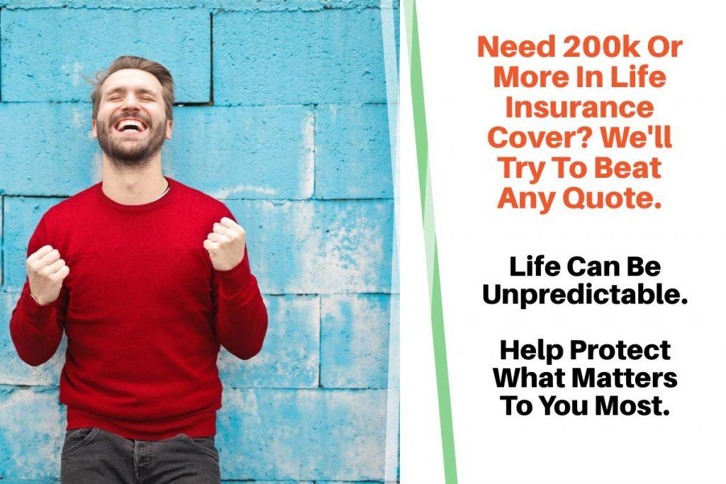 200 000 life insurance