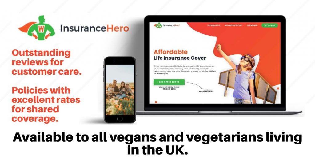 vegan life insurance UK