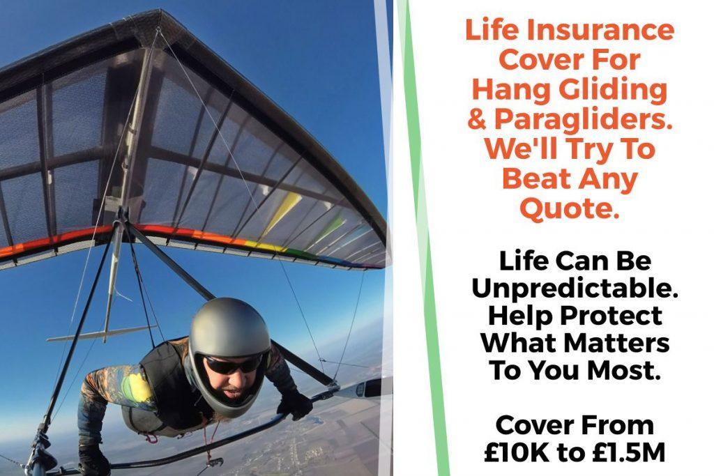 hang gliding life insurance