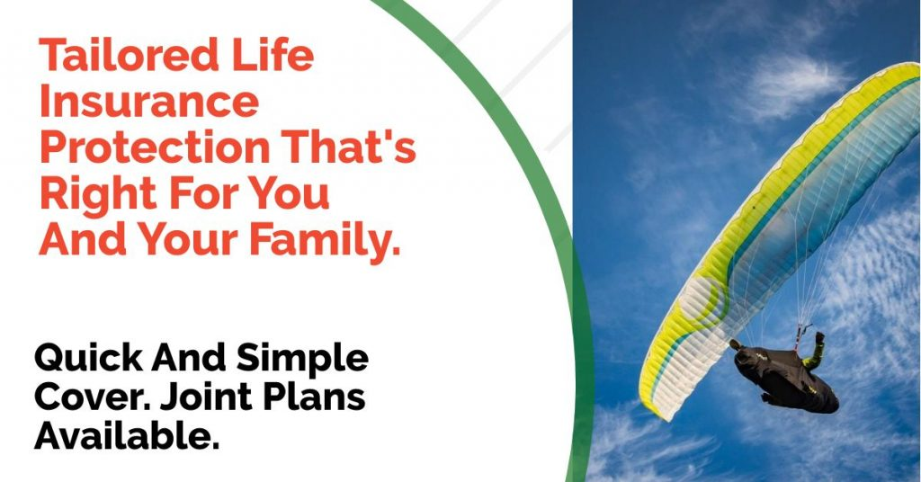 life insurance for paraglider pilots