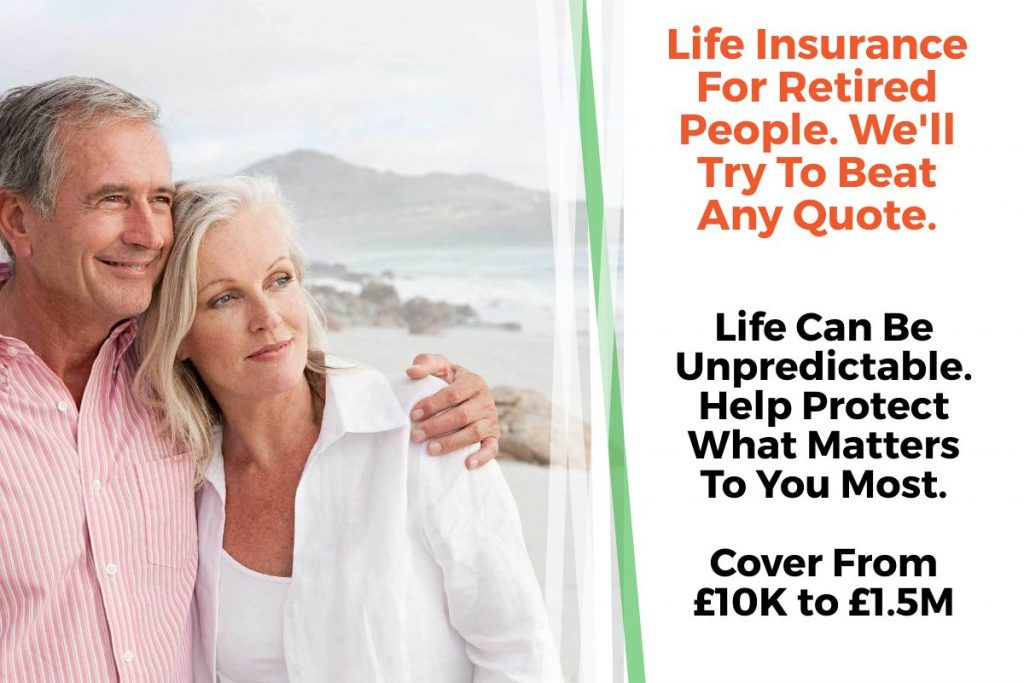 life insurance for retired person