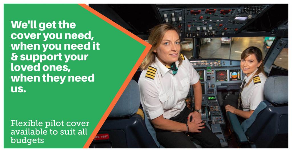 airline pilots life insurance